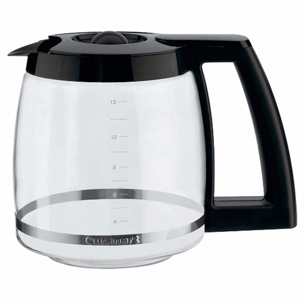 Cuisinart Coffee Maker Replacement Pots : Cuisinart Universal Coffee Maker 12 Cup Glass Carafe Black Pot ZPV-710 eBay