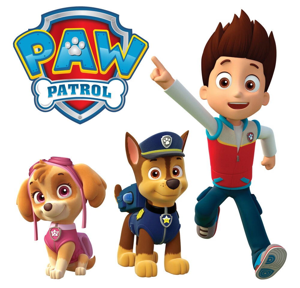 paw patrol totally movable wall sticker easy remove. Black Bedroom Furniture Sets. Home Design Ideas
