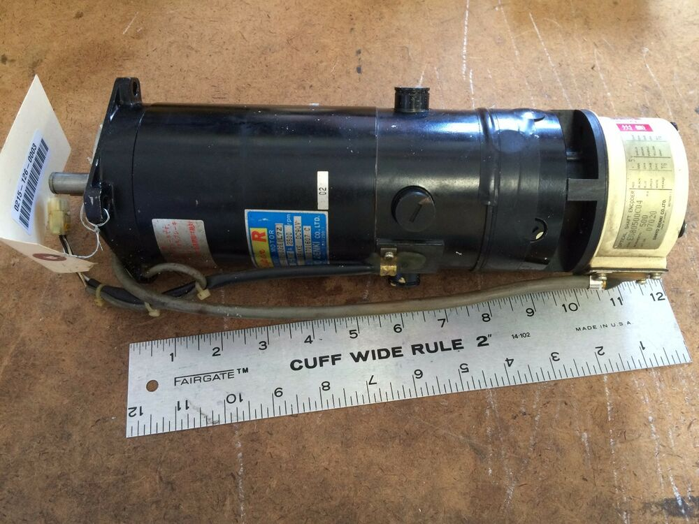 Used Sanyo Denki R850bt 032e L7z Dc Servo Motor With