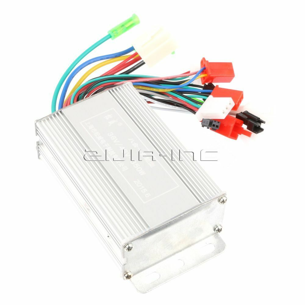 8 in 1 350w 36v 48v brushless motor controller for for 36v dc motor controller