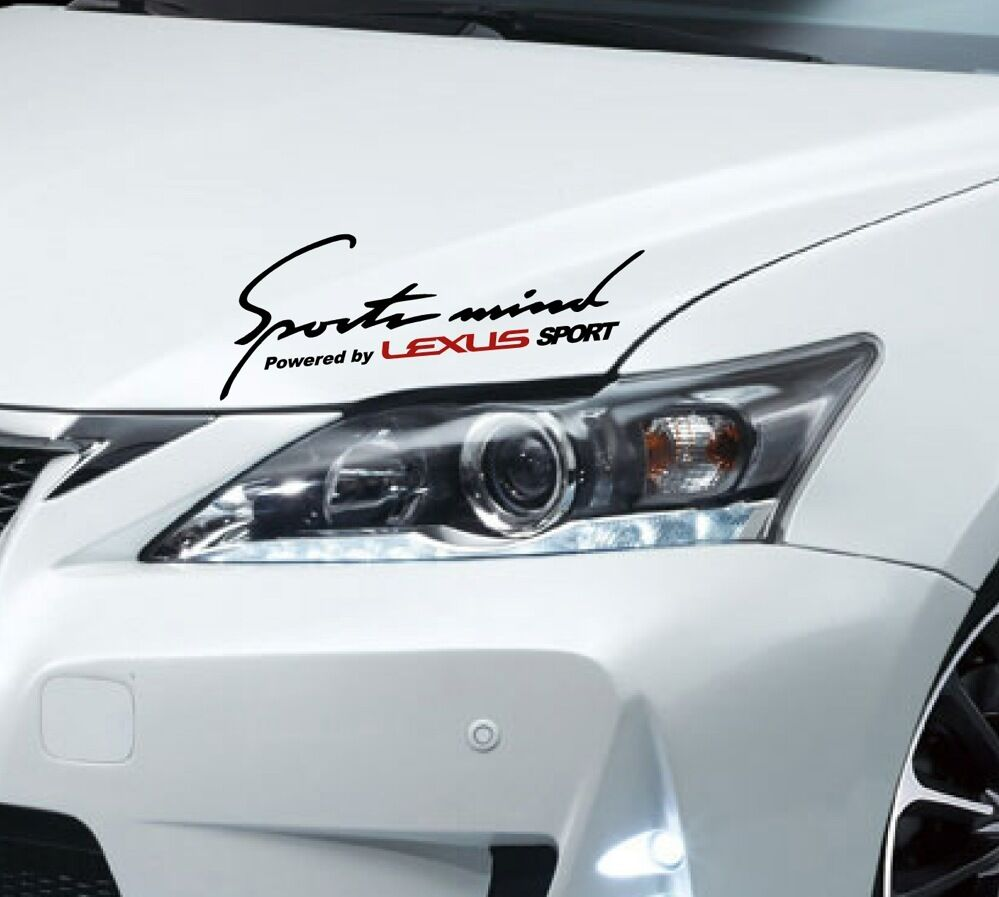 Lexus Performance: Sports Mind LEXUS IS 200 250 300 350 C ES GS 430 RX Decal