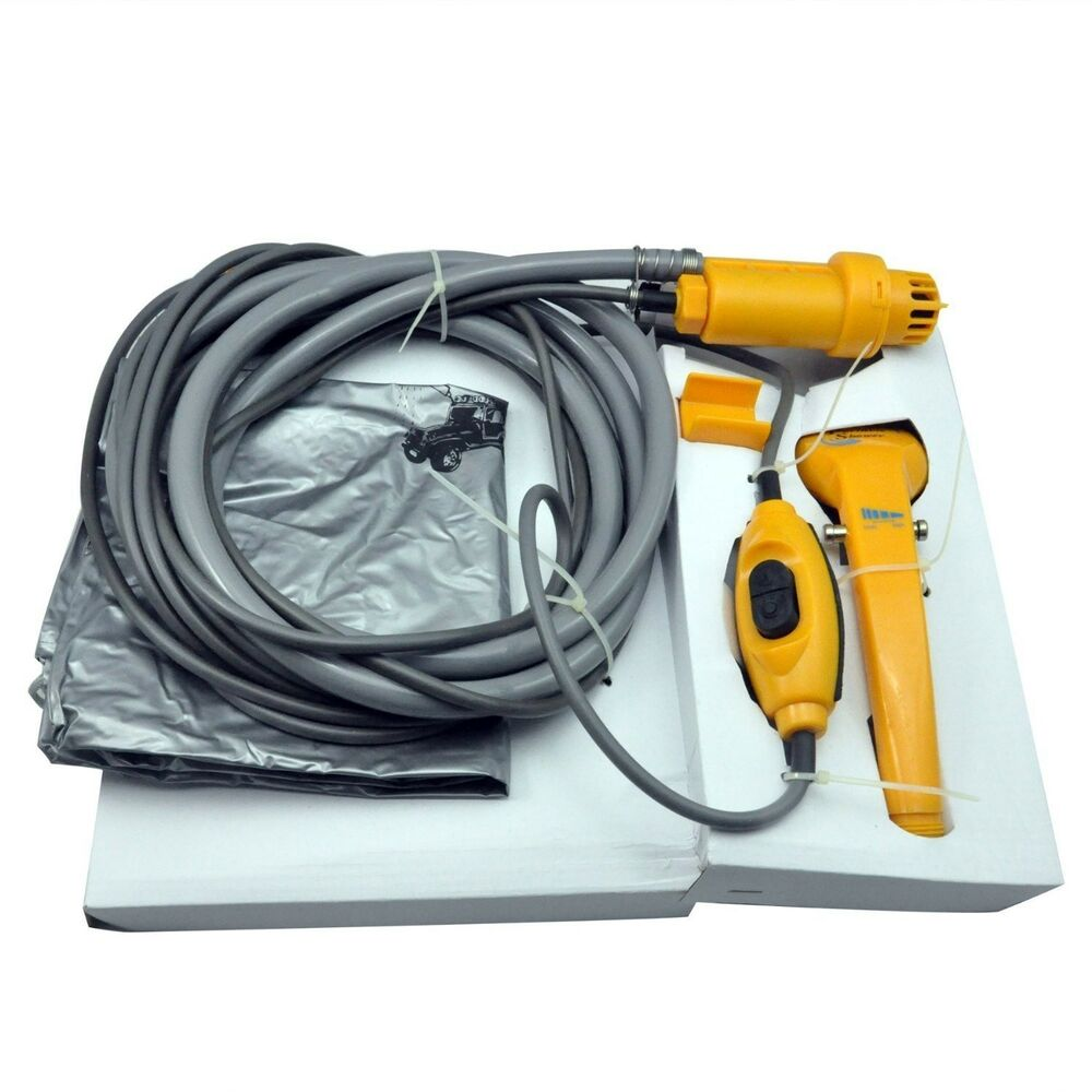 how to clean shower with pressure washer