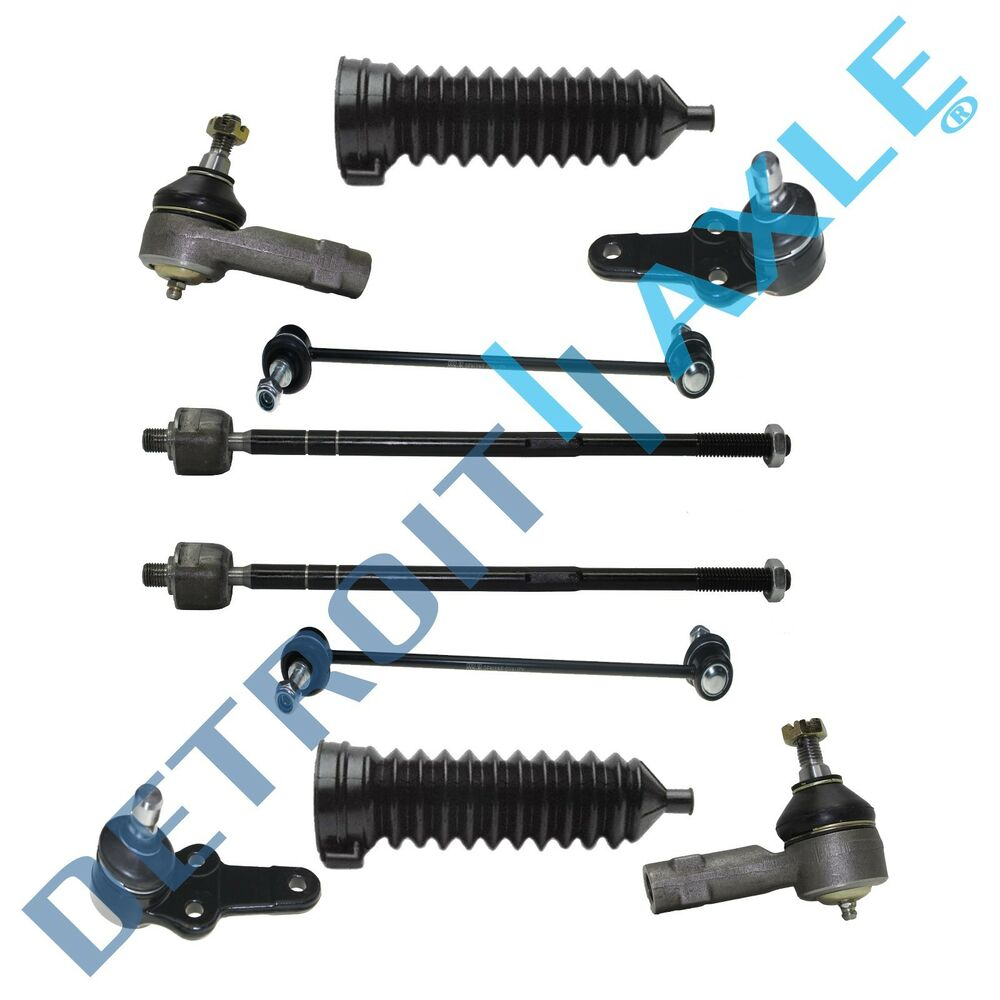 Brand New 10pc Complete Front Suspension Kit