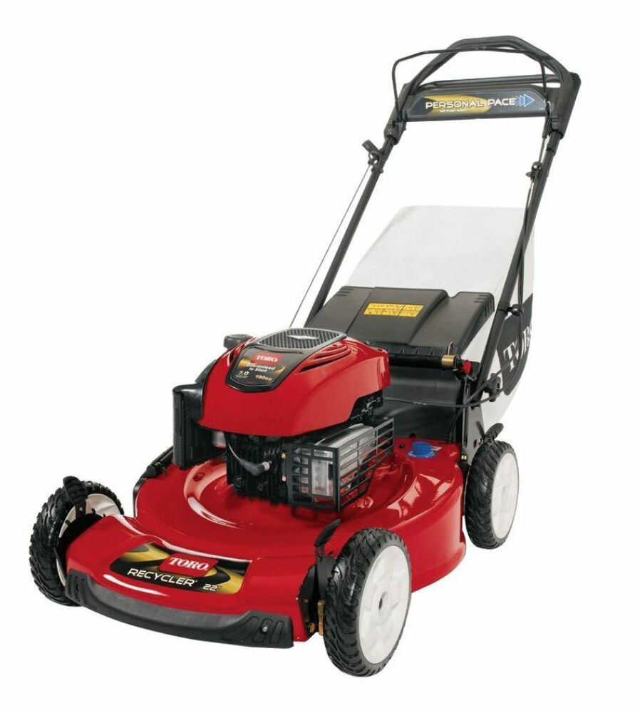 Toro Personal Pace Variable Speed Self Propelled Gas Lawn