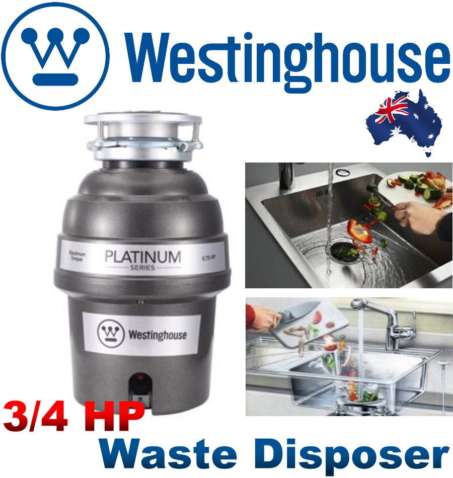 New Westinghouse 3 4 Hp 2600 Rpm Motor Waste Disposer