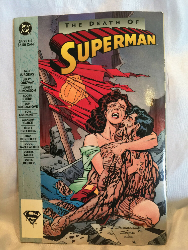 Collectible 1993 DC Comics Superman: The Death of Superman ...