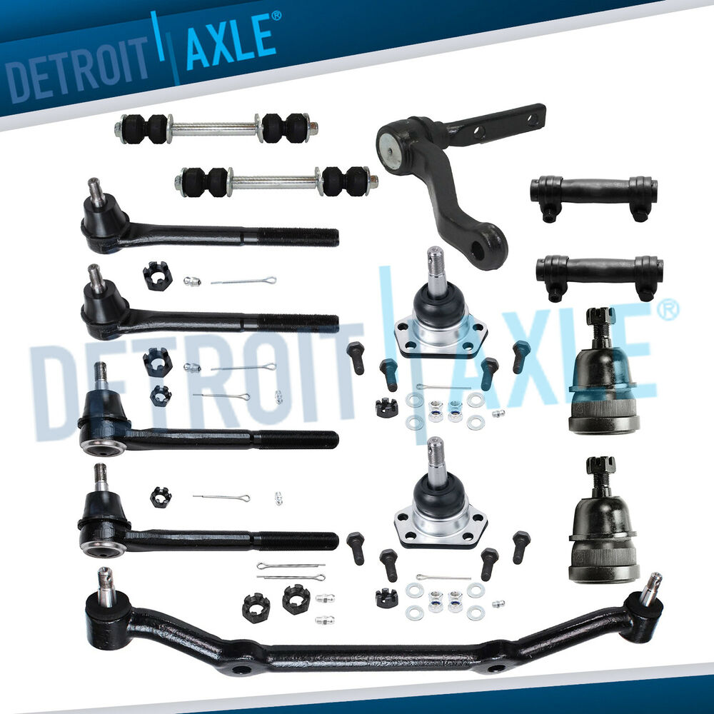 Brand New 14pc Complete Front Suspension Kit For Chevy Gmc