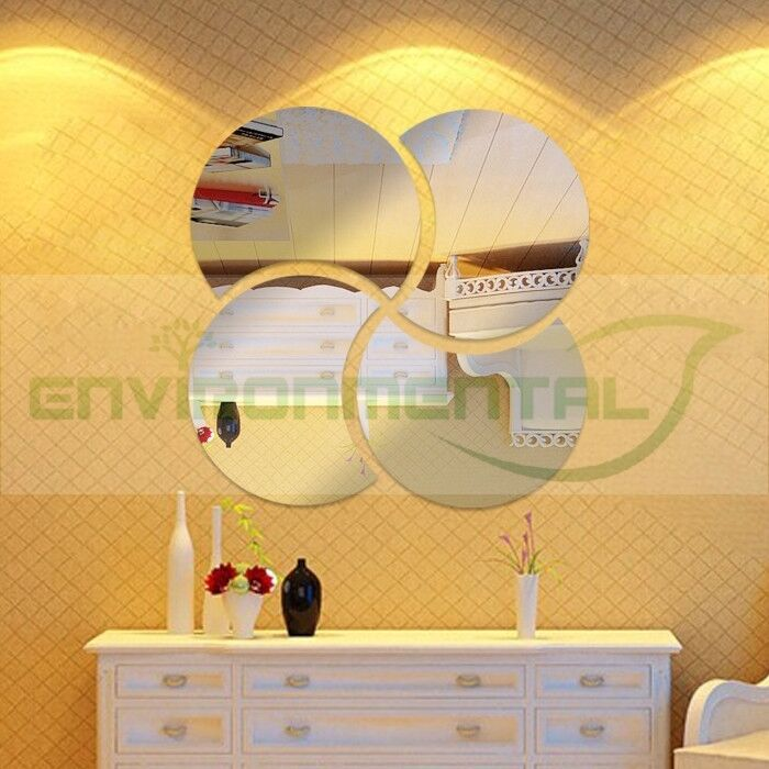 Modern Plastic Wall Decor : Petals modern best acrylic plastic mirrors wall art room