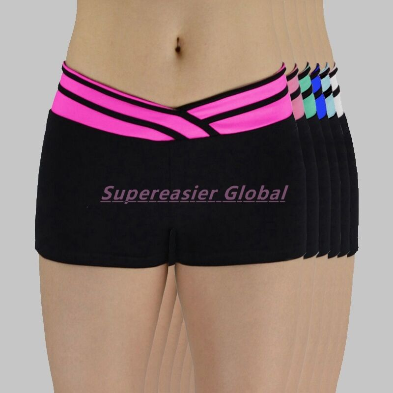 Women Sports Shorts Yoga Running Gym Fitness Elastic Short
