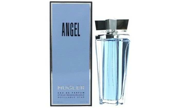 angel by thierry mugler 100ml the refillable stars. Black Bedroom Furniture Sets. Home Design Ideas
