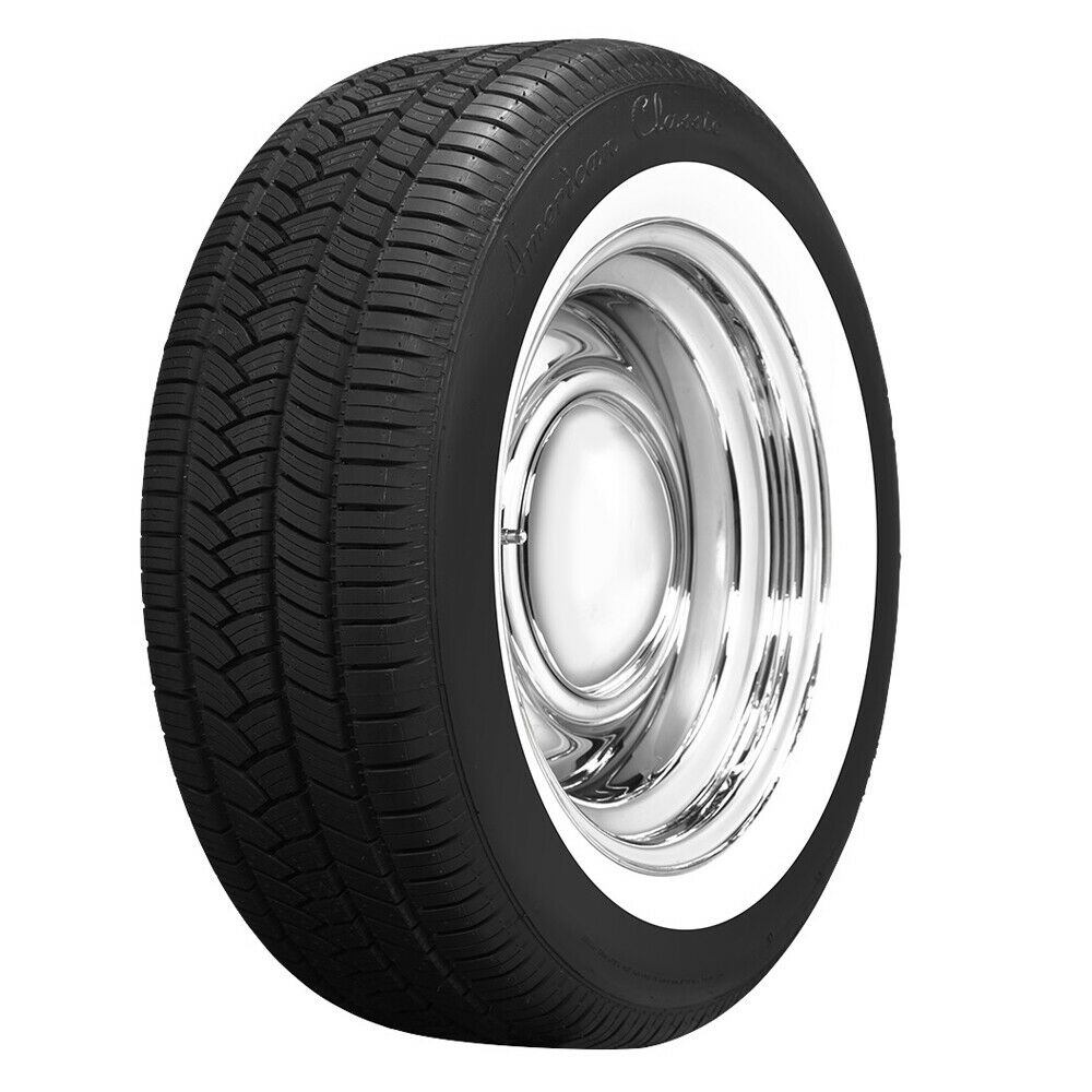 classic whitewall radial 55r17 p235 american wide 98h quantity ww tires