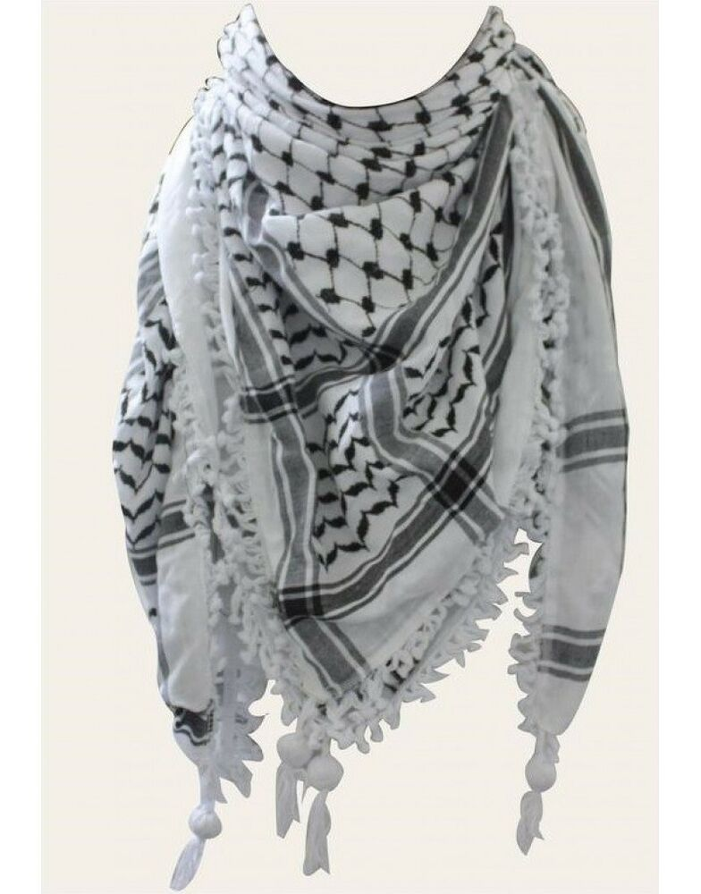 shemagh keffiyeh how to wear