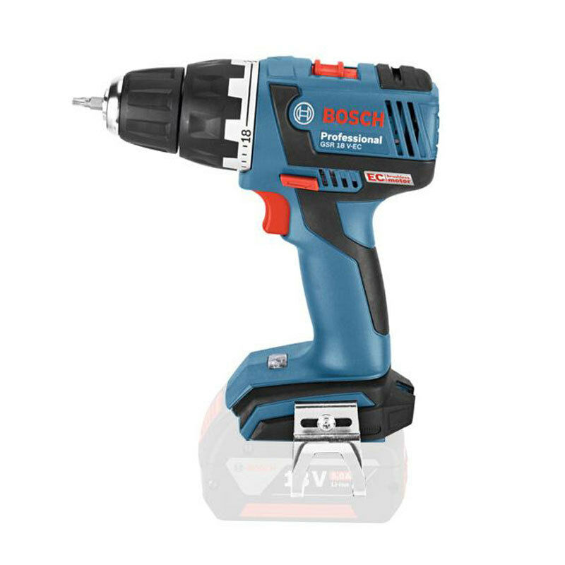 bosch gsr 18v ec electric screwdriver cordless drill driver solo version ebay. Black Bedroom Furniture Sets. Home Design Ideas