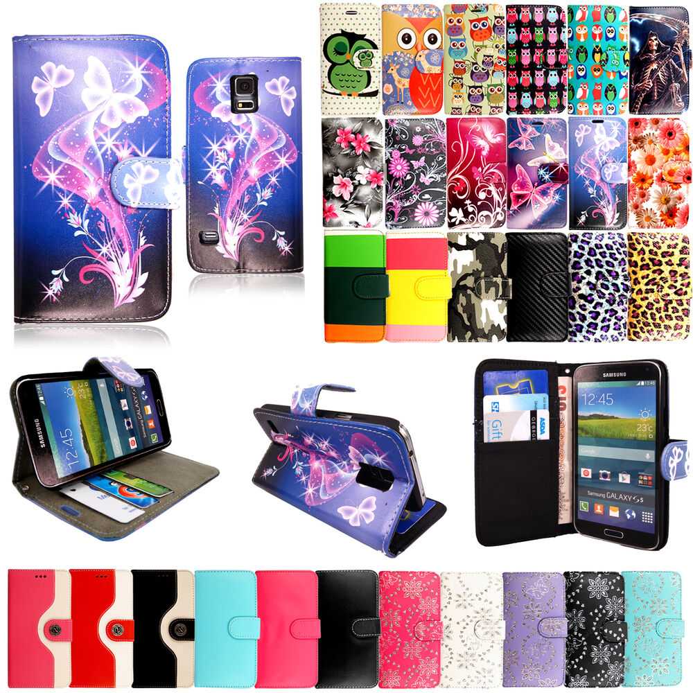 Case Design galaxy s3 wallet phone case : New Flip Wallet Leather Case Cover For Samsung Galaxy Phone + Screen ...