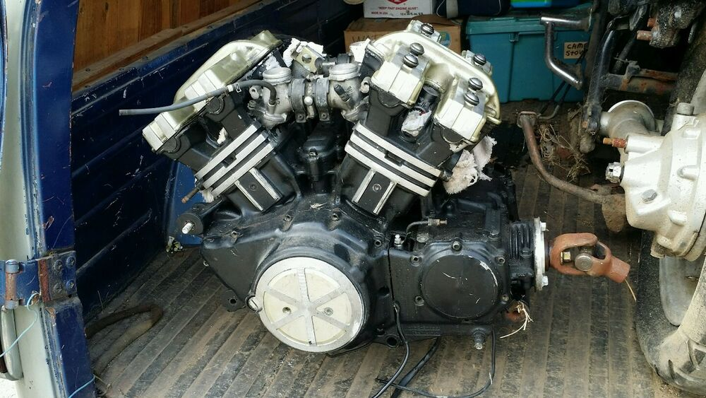 1988 yamaha v max motorcycle engine vmax parts only for Troy motor mall gmc