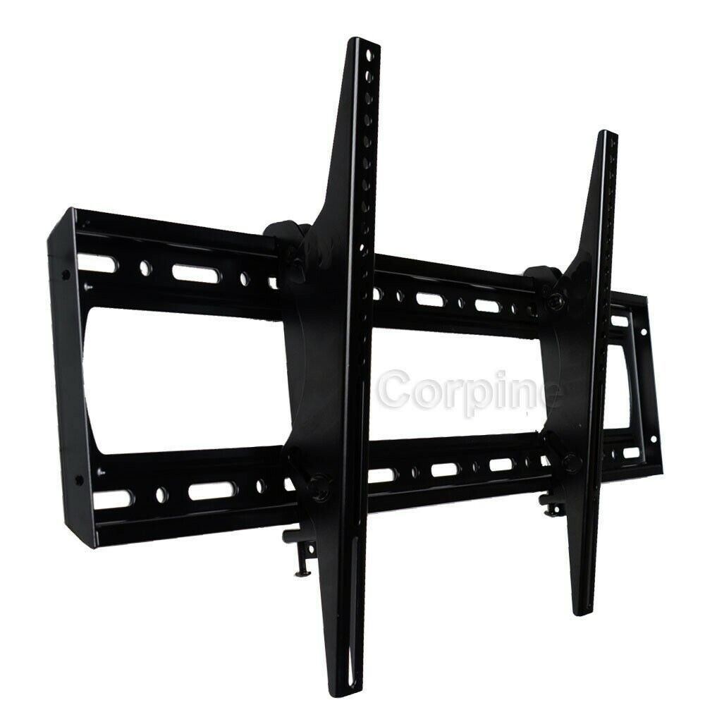 led tilt tv wall mount 60 65 70 78 75 80 84 85 big large heavy duty bracket m0a ebay. Black Bedroom Furniture Sets. Home Design Ideas