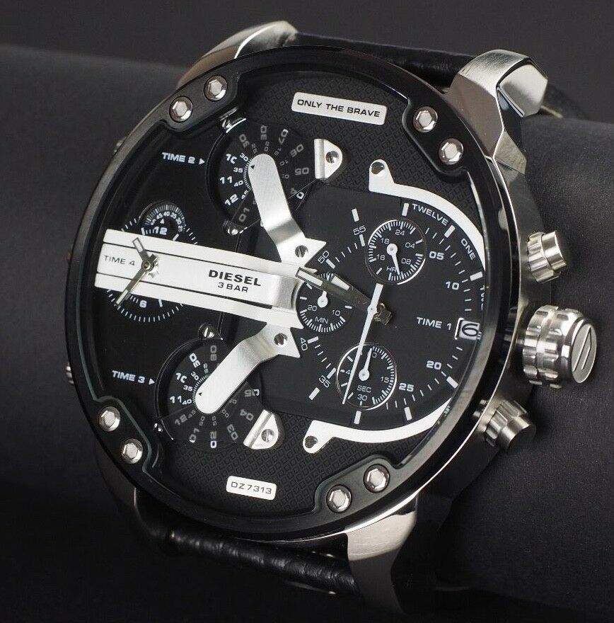 dz7313 diesel herren uhr multitimer chronograph mr daddy 2 0 angebot ebay. Black Bedroom Furniture Sets. Home Design Ideas
