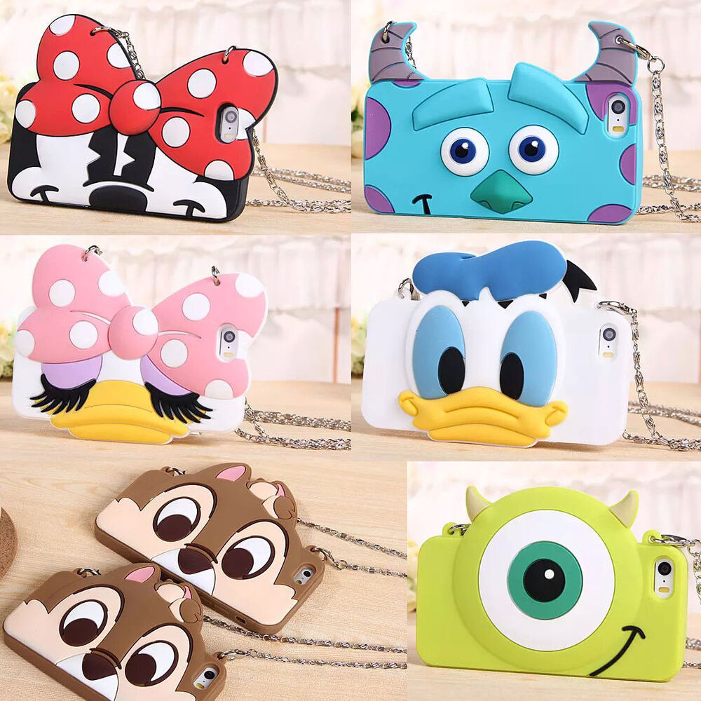 iphone 6s 3d new 3d disney rubber silicone soft 11458