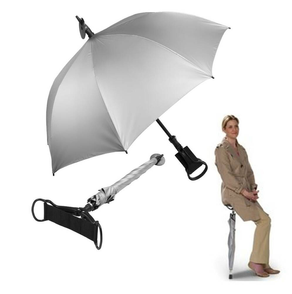 Umbrella Golf Stick Seat Cane Chair Portable Holds up 300