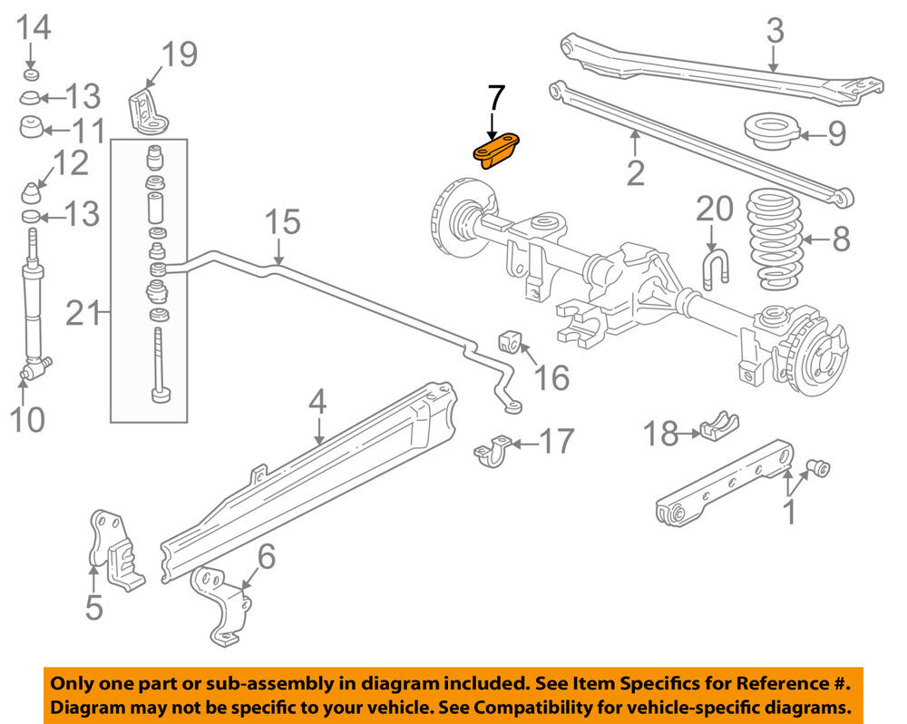 Gm Oem Rear Suspension