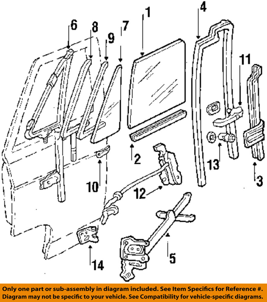 Gm oem front door lock latch kit 15993028 ebay for Exterior door components