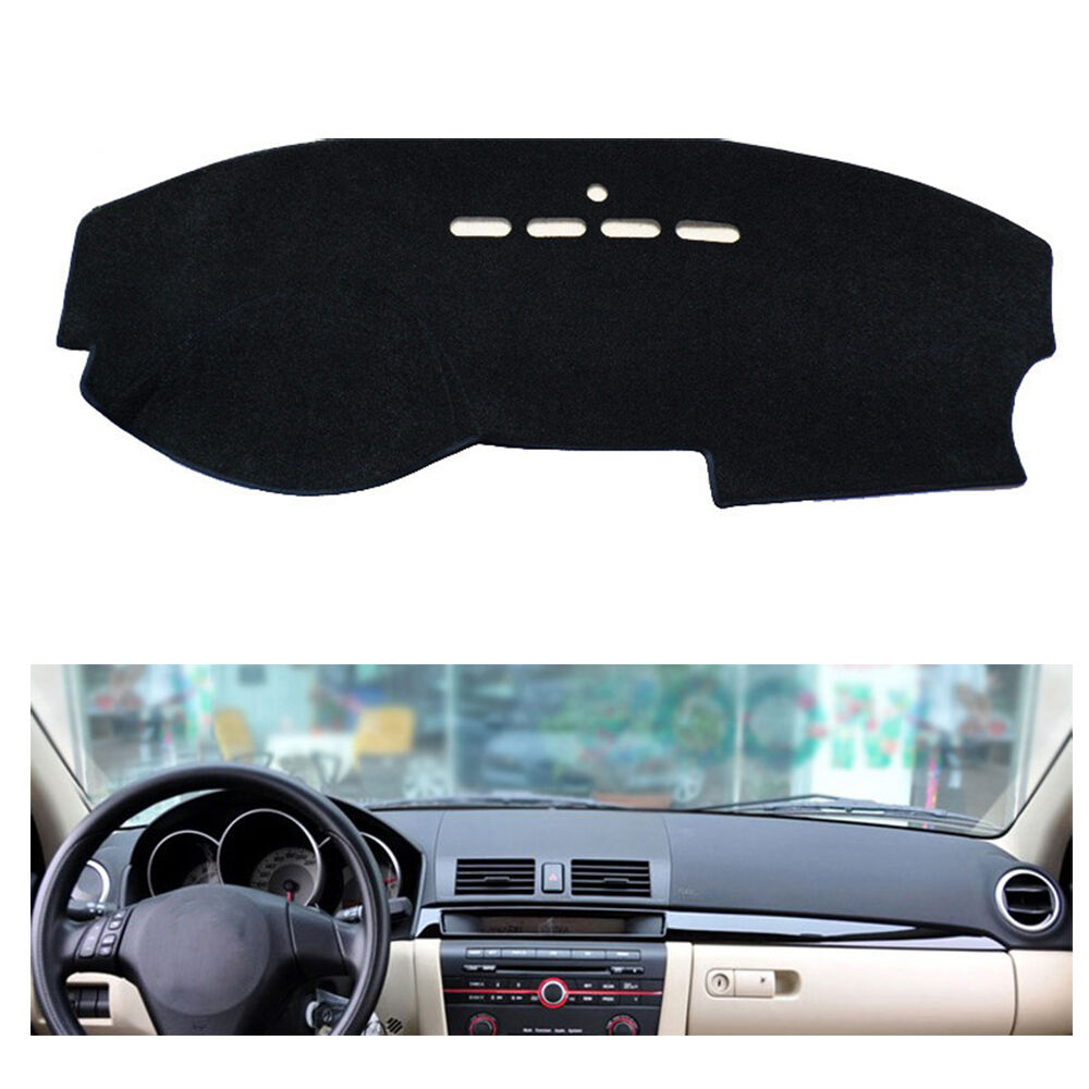 fly5d dashmat dashboard mat dash cover pad interior for mazda 3 m3 2003 2009 5 ebay. Black Bedroom Furniture Sets. Home Design Ideas