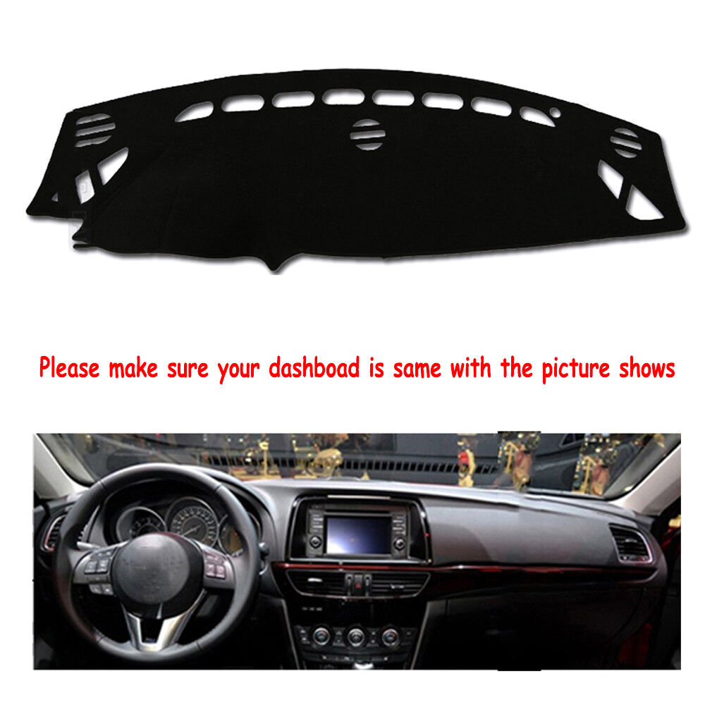 Fly5d Dashmat Dashboard Mat Sun Cover Pad Car Interior For Mazda 6 M6 2014 2016 Ebay