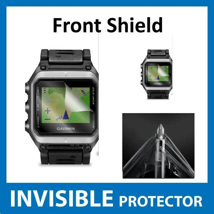 Garmin Epix GPS Watch INVISIBLE FRONT Screen Protector ...