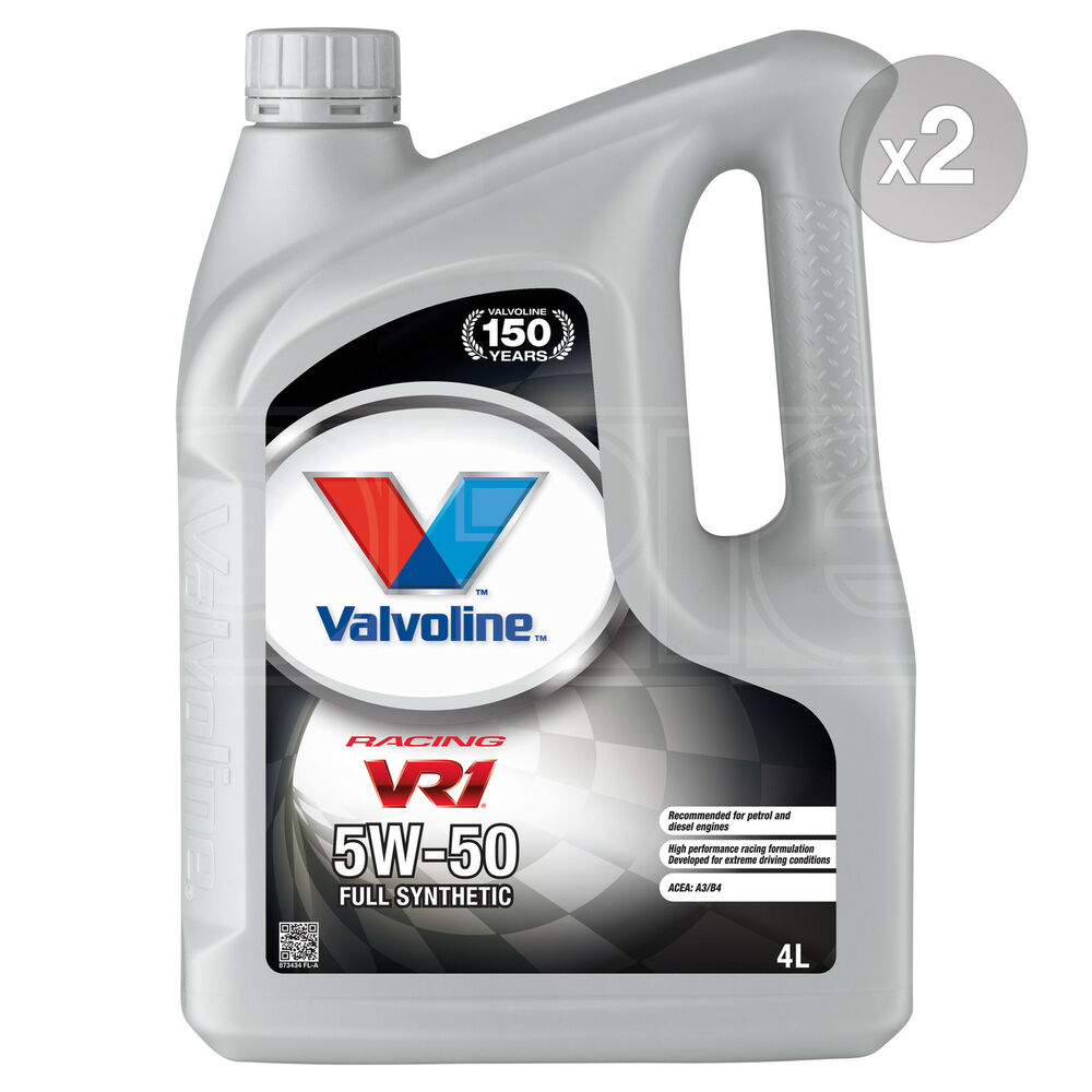 Valvoline vr1 racing 5w 50 premium synthetic 5w50 engine for 5w50 synthetic motor oil