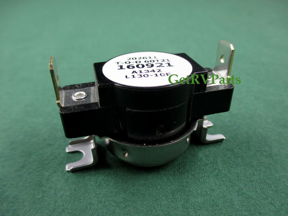 Suburban 160921 Rv Dsi Water Heater Thermostat 130