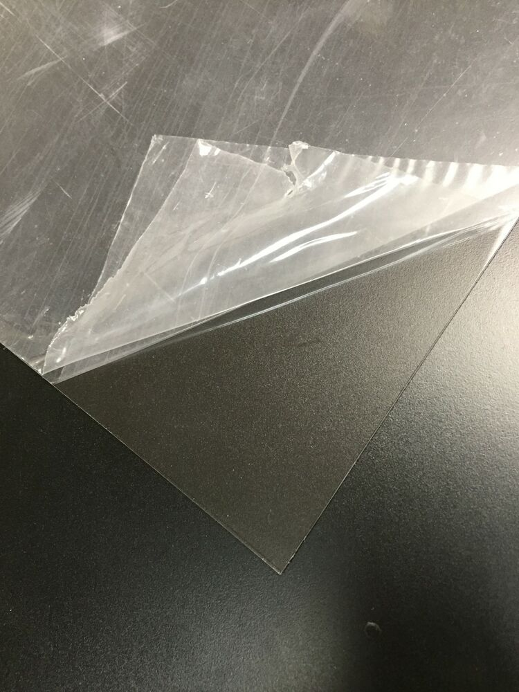 Clear petg plastic sheets 060 x 12 x 12 polyester for Forme in plexiglass