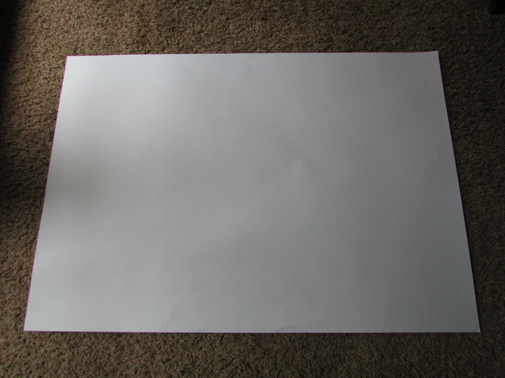 Large poster board for photos
