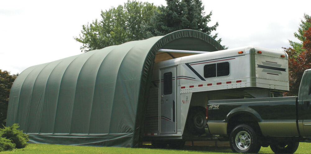 New 11x28x10 quality weather shield portable rv boat for Portable rv garage