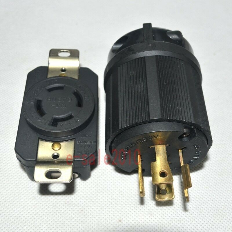 nema l14 20p l14 20r 20a 125 250v plug connector for. Black Bedroom Furniture Sets. Home Design Ideas
