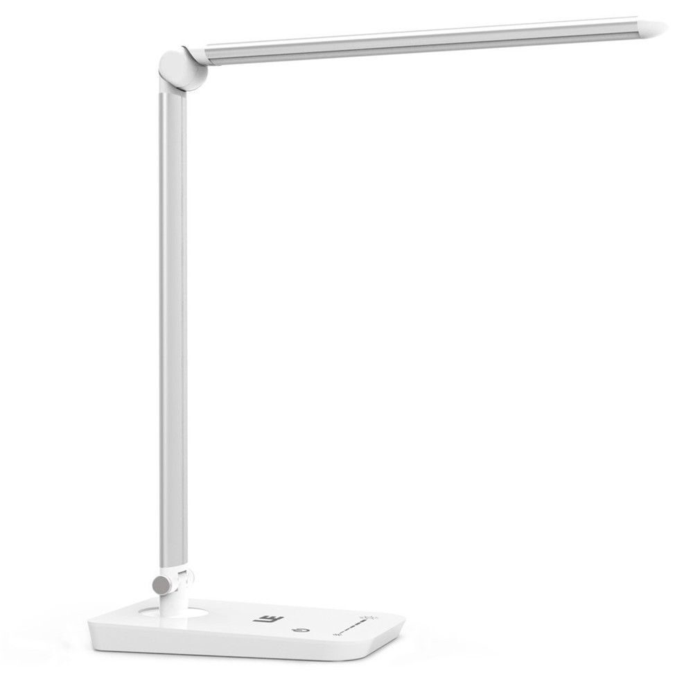 8W Touch Sensor 54 LED Light Dimmable Desk Table Reading ...