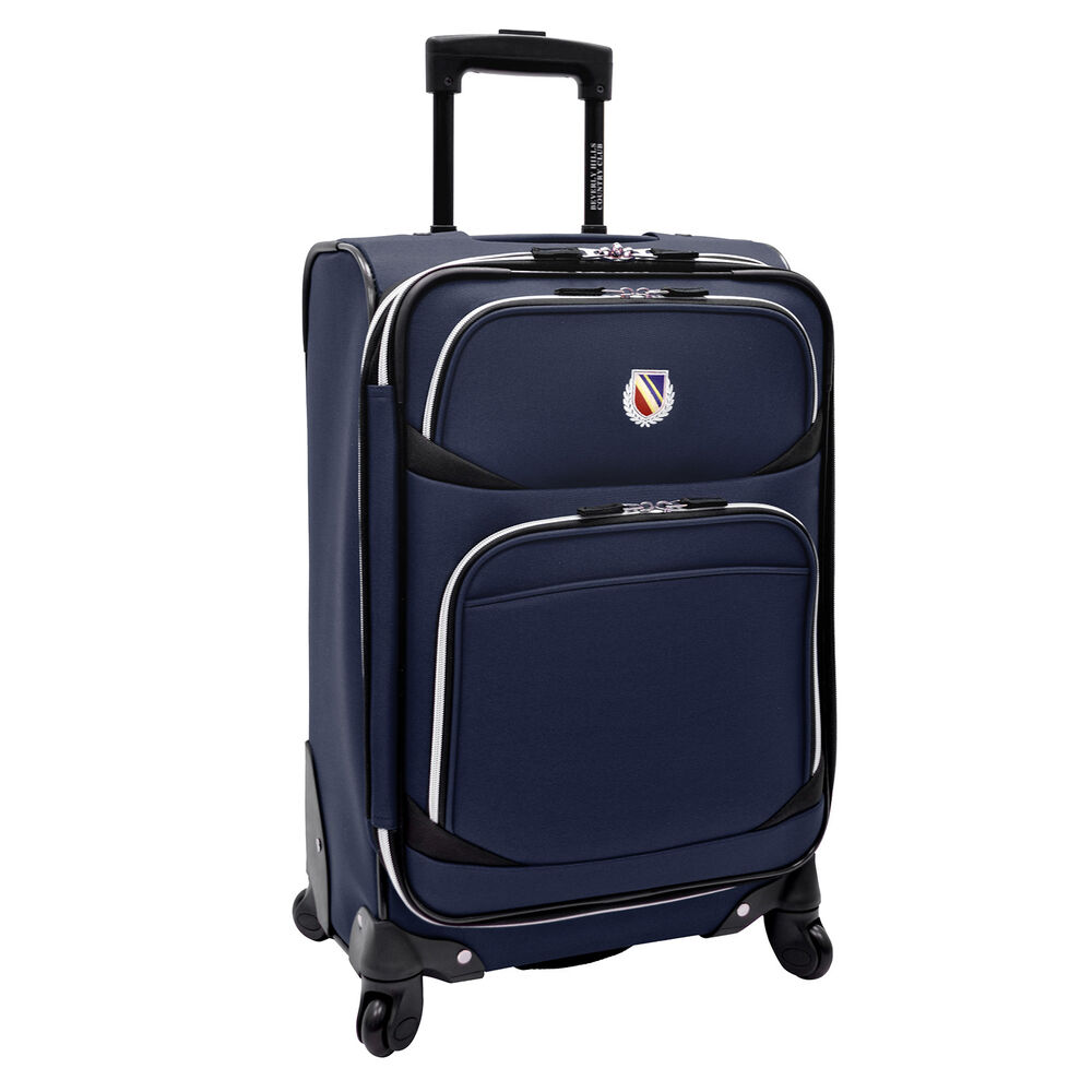 lightweight carry on luggage san vincente 22 quot carry on navy lightweight expandable 13282