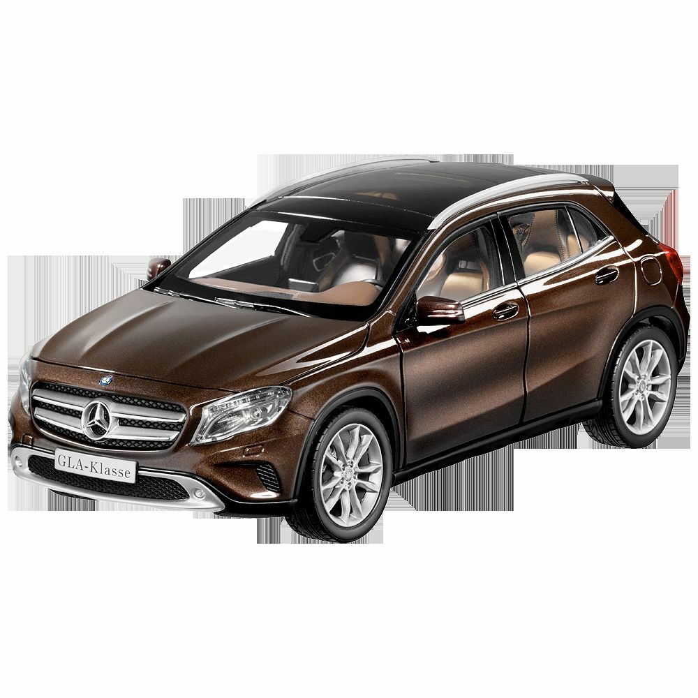 mercedes benz x 156 gla classe orient brun 1 18 neuf. Black Bedroom Furniture Sets. Home Design Ideas