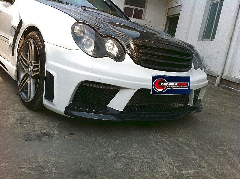 2001 2007 mercedes benz w203 c class bse amg3 style full for Mercedes benz c class body kit