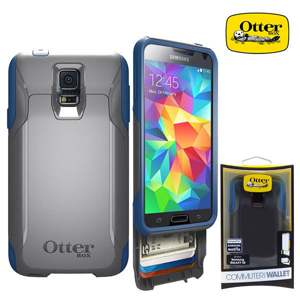 otterbox commuter wallet protective cover case for samsung galaxy s5 ebay. Black Bedroom Furniture Sets. Home Design Ideas