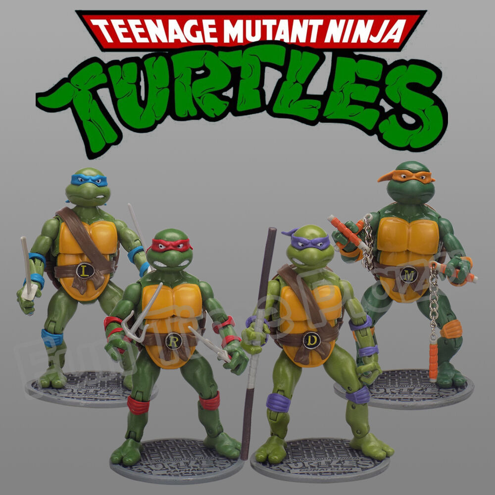 Teenage Mutant Ninja Toys : Teenage mutant ninja turtles classic collection action