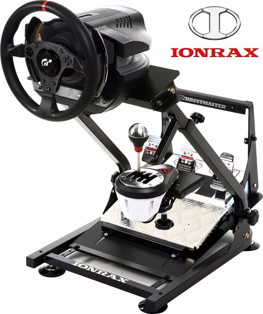 ionrax rs1 racing steering wheel stand gt6 gt5 ps3 ps4. Black Bedroom Furniture Sets. Home Design Ideas