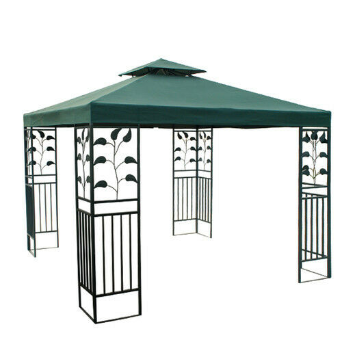 Details About Canopy Only For 2 4m Square Two Tier Patio Gazebo Water Resistant