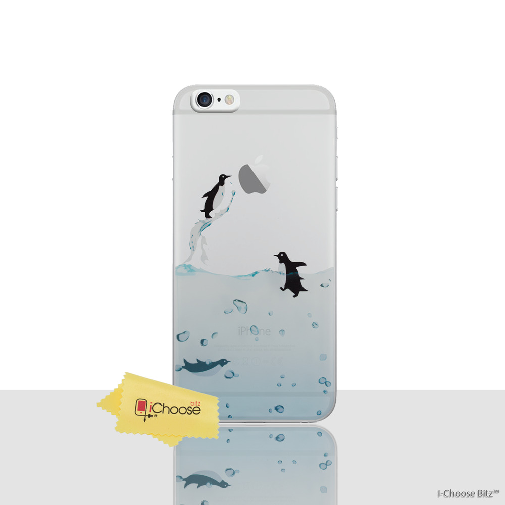 clear case for iphone 5s penguin cover apple iphone 5 5s screen protector soft 16810