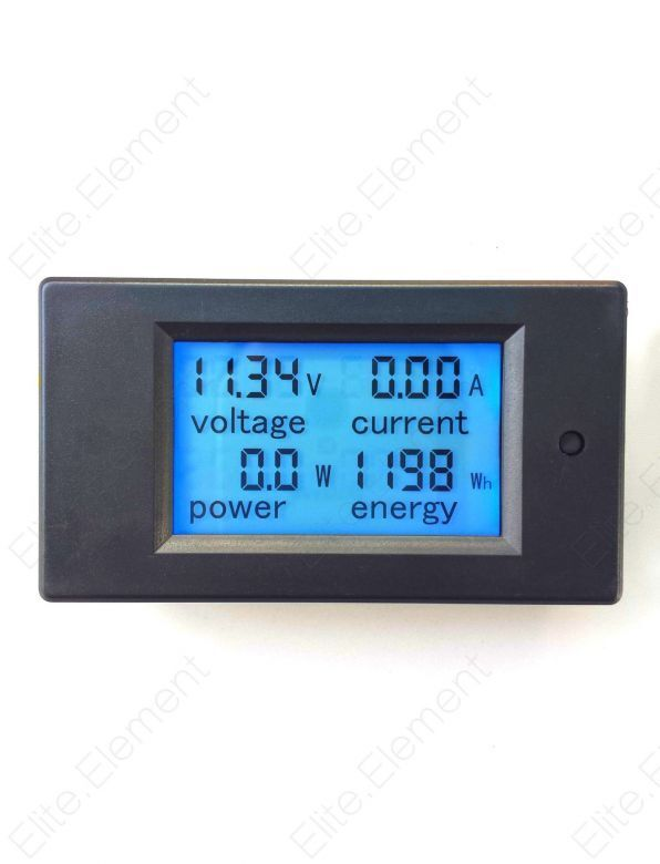 1000 Amp Battery Monitor : Dc battery monitor v a lcd voltage current kwh