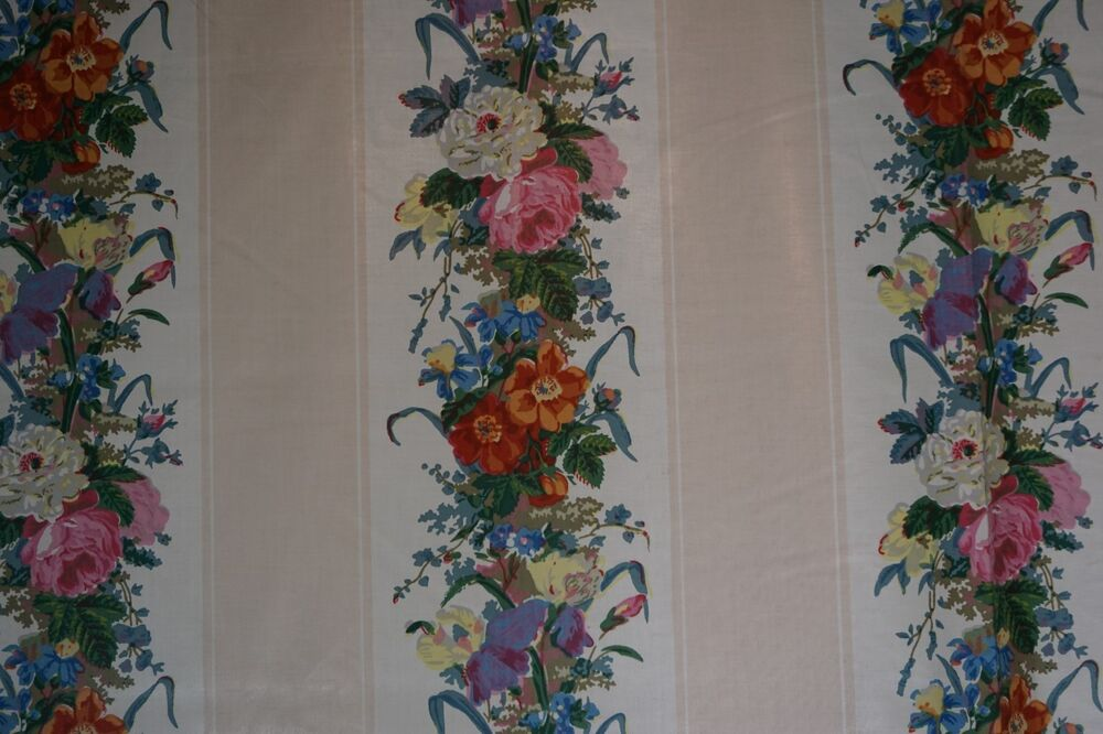 Garden party fabric from the design archives 1986 floral for Garden party fabric by blackbird designs