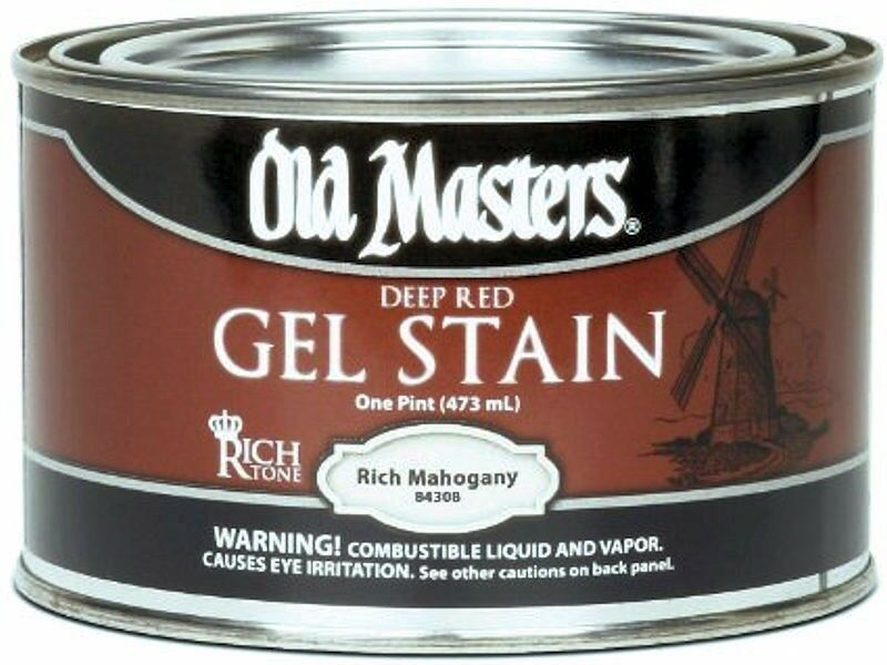 masters gel stain various colors pint size ebay