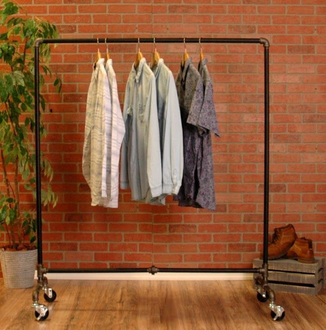 Image Result For Clothing Rack On Wheels