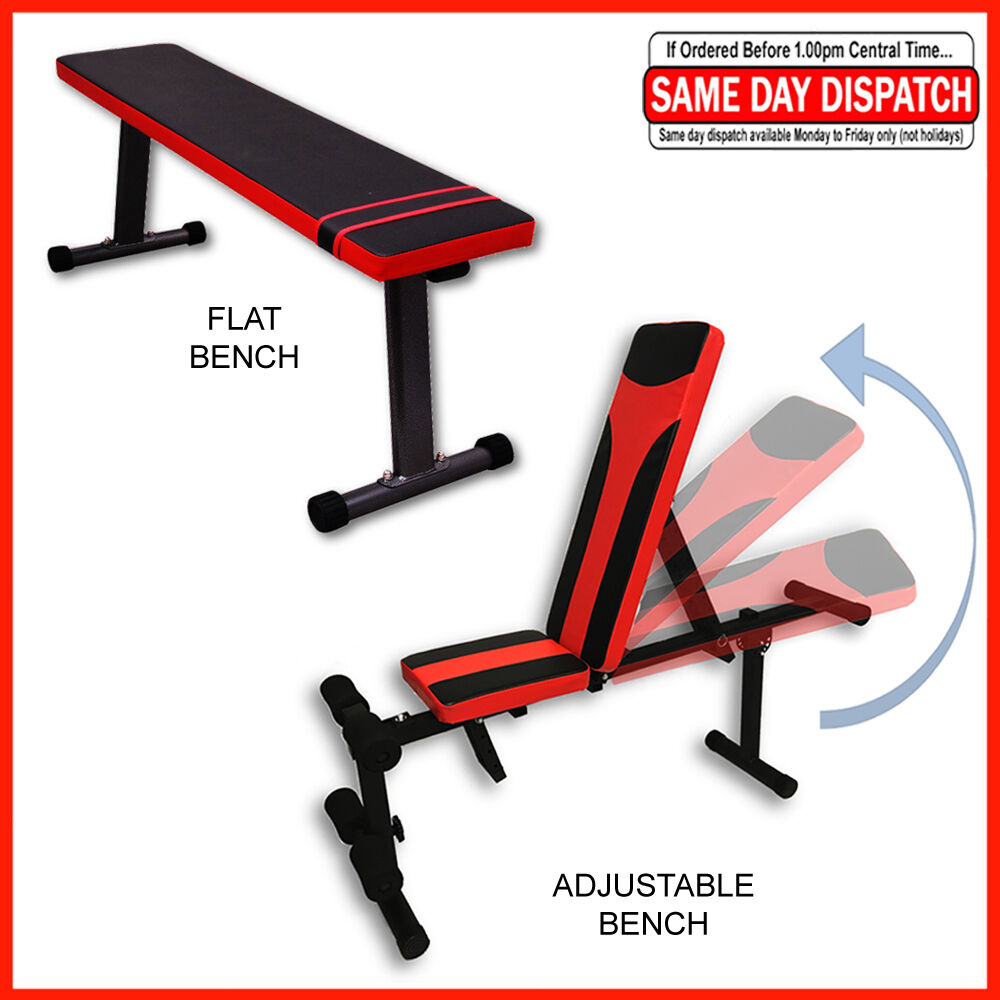 Adjustable Incline Bench Weight Press Flat Gym Bench Folding Decline Benches Ebay