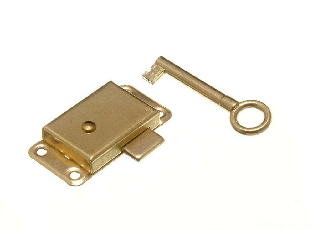 New Wardrobe Cupboard Door Lock And Key Drawer Cabinet Catch Small Or Large Ebay