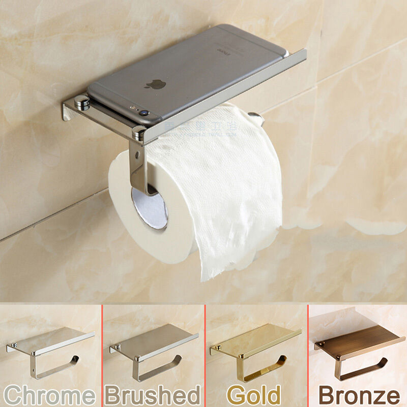 Toilet Paper Holders Mounted Stainless Steel Tissue Roll